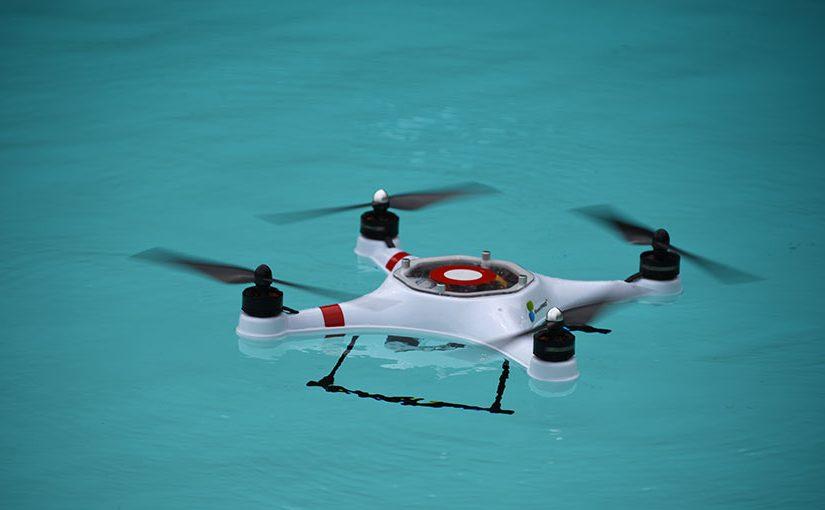 Après la terre et l'air, les drones débarquent dans l'eau !