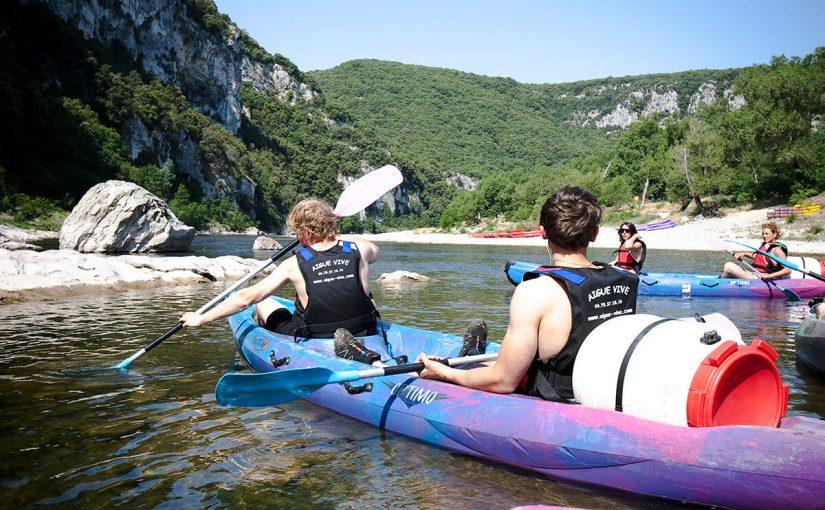 Quels sont les points navigables de l'Ardèche?