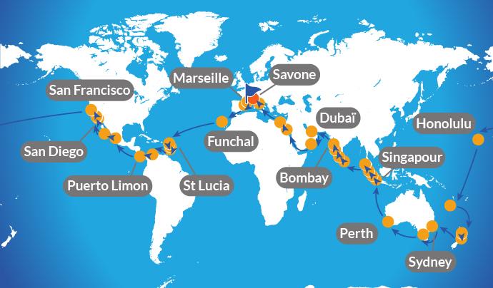 Tour du monde en bateau : Quels documents embarquer avec soi ?