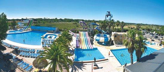 Découvrez le grand parc aquatique du camping les Mimosas