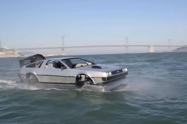 Actualité : un aéroglisseur en forme de DeLorean est disponible sur le marché !
